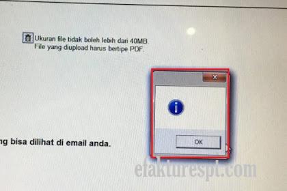 e-Form Gagal Submit | e-Form Error