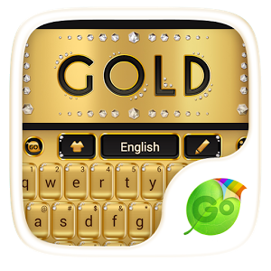Go Gold Keyboard Theme APK Latest Version Free Download For Android
