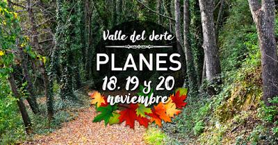 Multitud de eventos este fin de semana en el Valle del Jerte (18, 19 y 20 de noviembre)