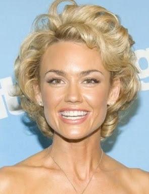 model gaya rambut wanita 2008 curly topped