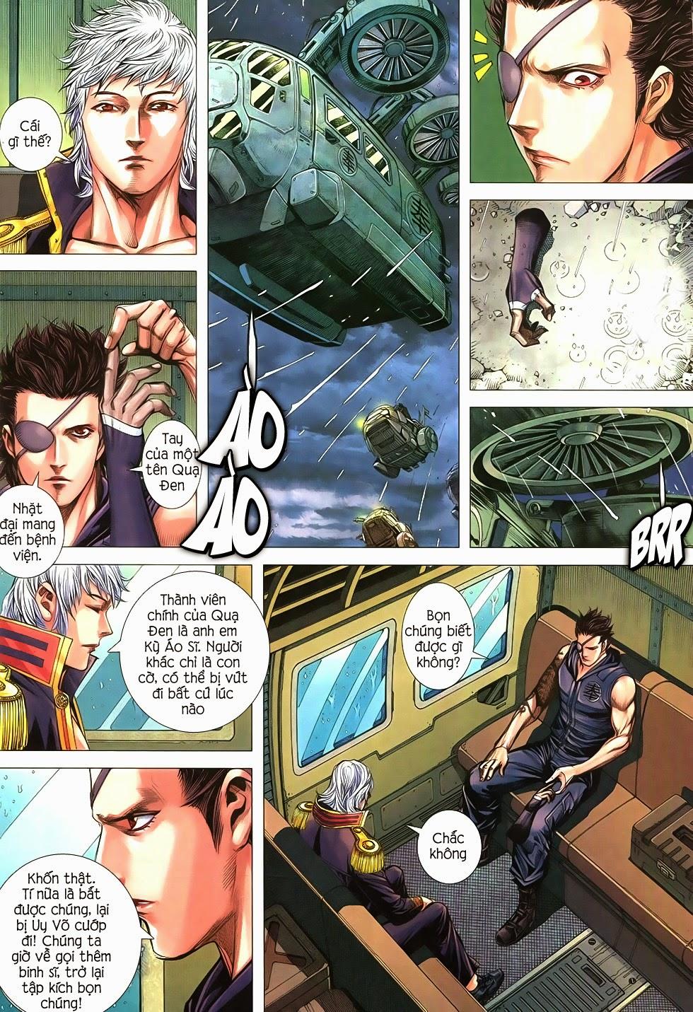 Đại Quân Phiệt chap 21 trang 14