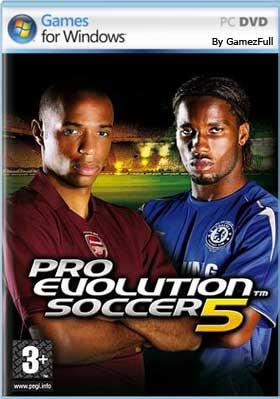 Pro Evolution Soccer 2005 PC Game Free Download