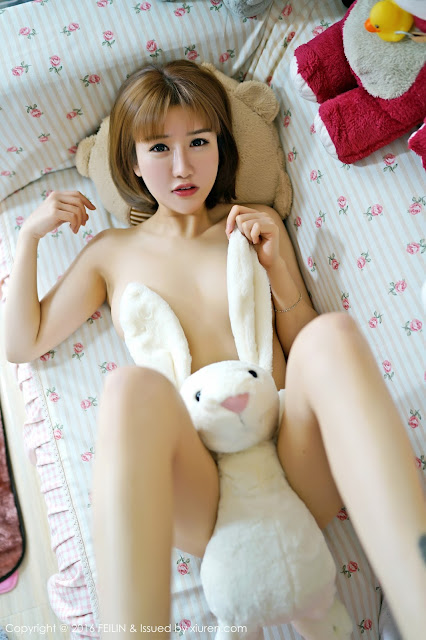 Hot girls Nuked teen girl covers wet pussy by rabbit toy 3