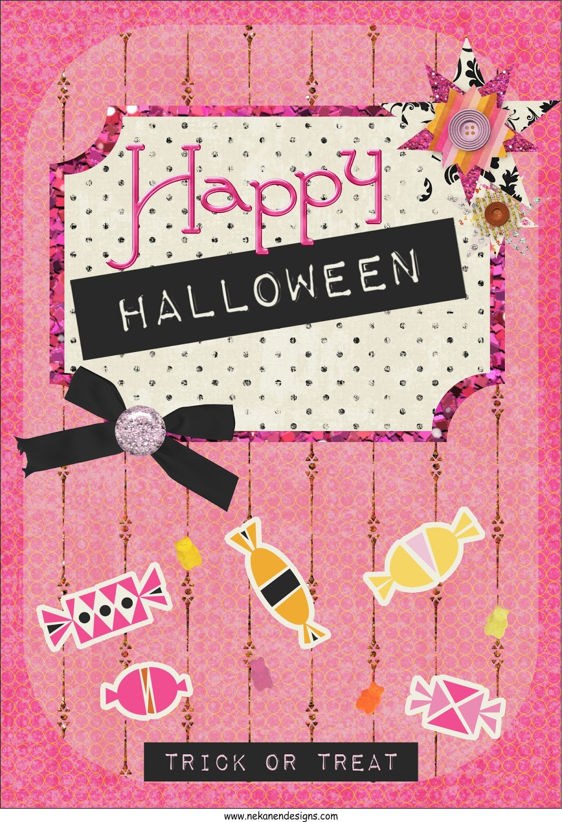 feliz halloween printable