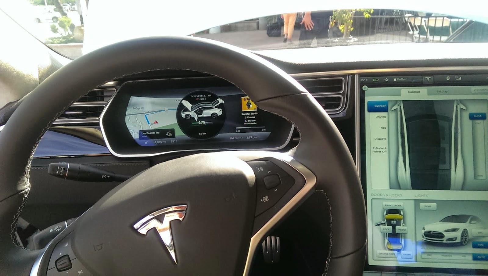 Blue Heron Blast Tesla S