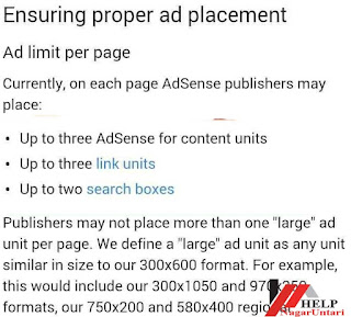 old-adsense-per-page-limit-policy