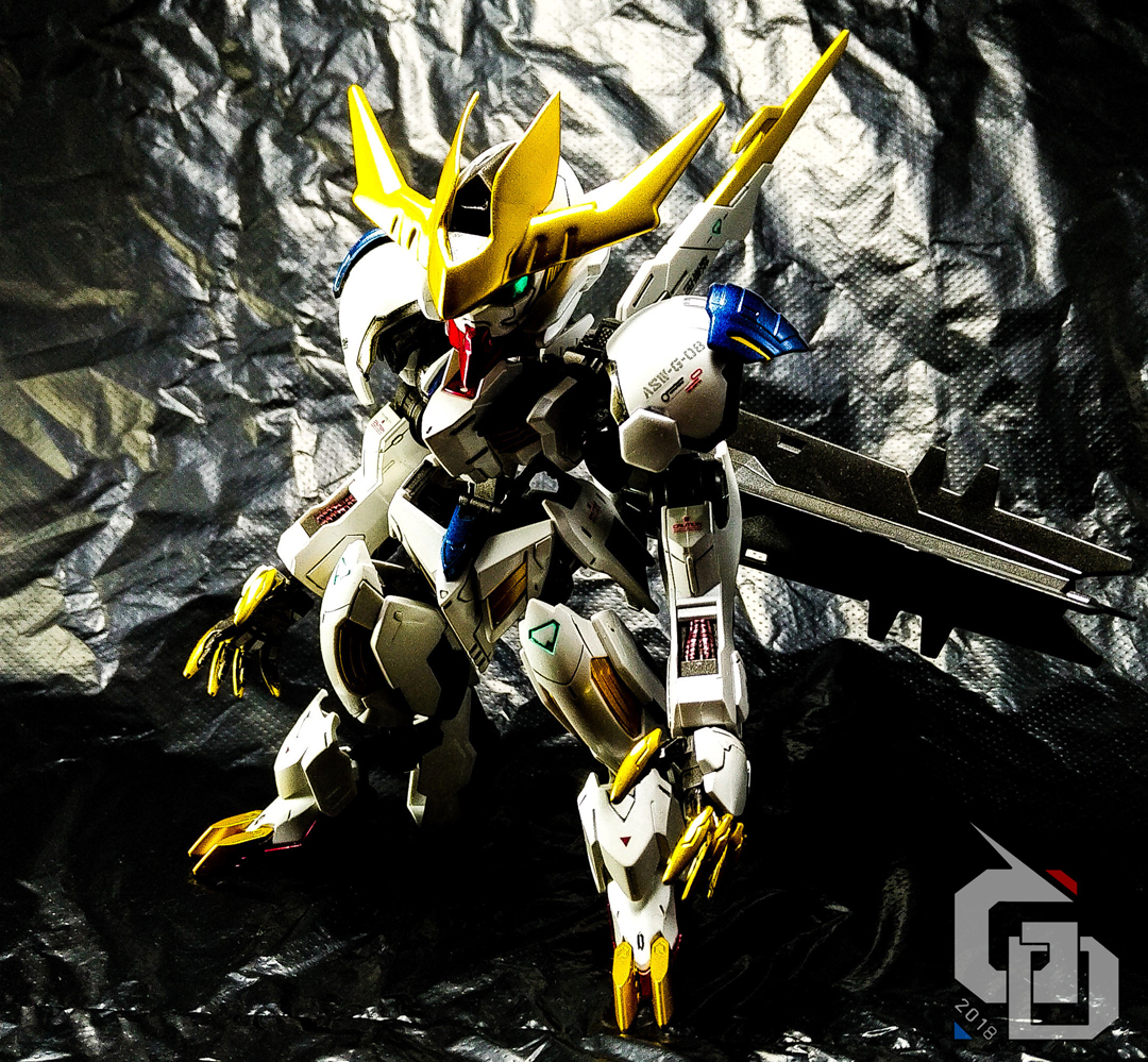 custom build sd x fm gundam barbatos lupus rex gundam. Black Bedroom Furniture Sets. Home Design Ideas