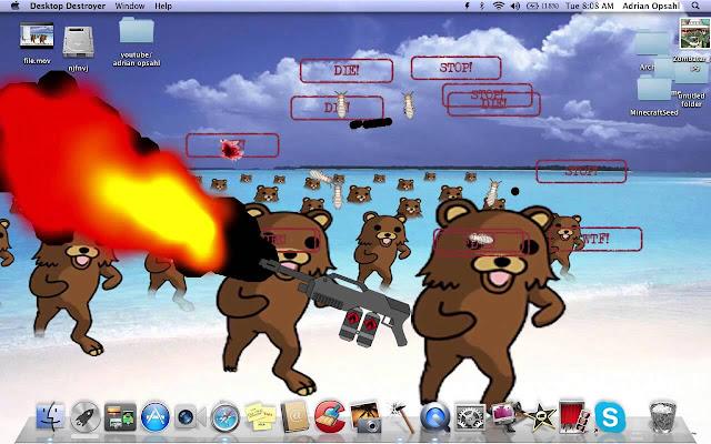 تحميل لعبة تكسير وتحطيم وتخريب شاشة الكمبيوتر برابط مباشر ميديا فاير مجانا Download Desktop Destroyer Game