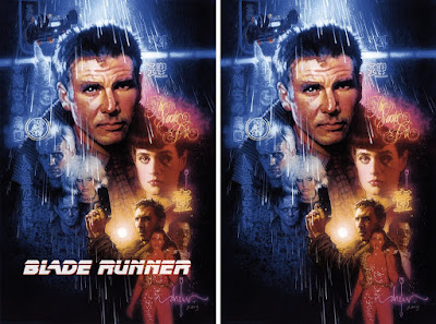 Blade Runner Movie Poster Screen Print by Drew Struzan x Bottleneck Gallery