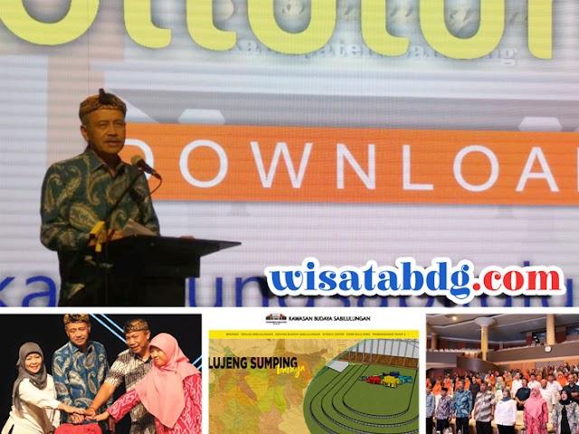 Pemkab Bandung Luncurkan Situs dan Aplikasi Kampung Sabilulungan