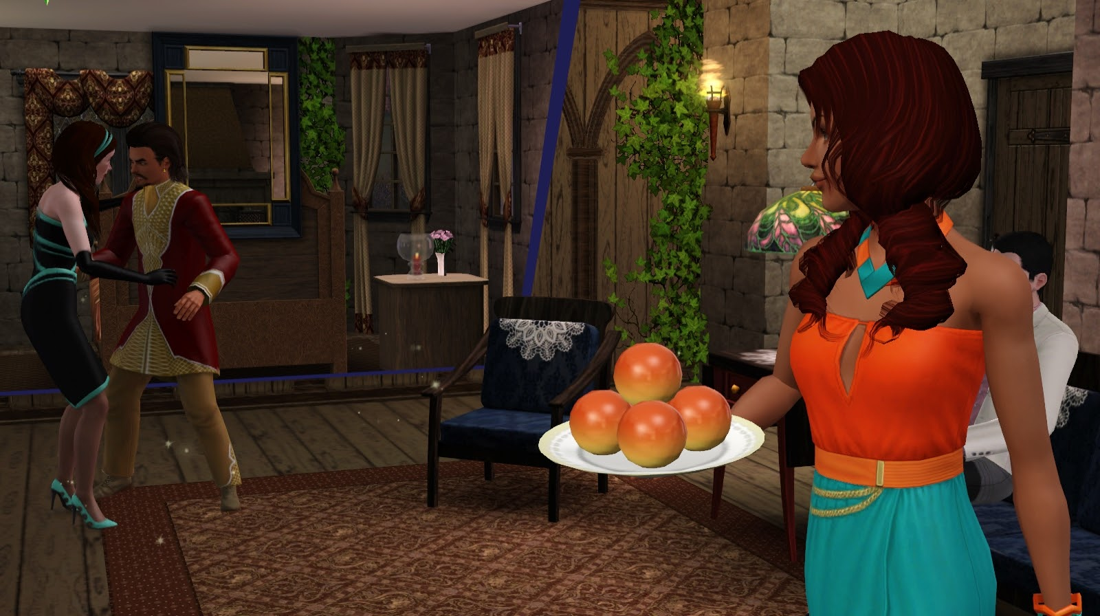 Baked Angel Food Cake Sims