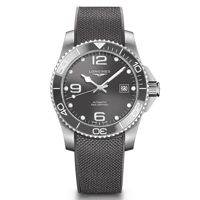 Longines HydroConquest Ceramic gray bezel