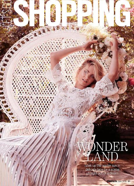 Model, @ Elyse Taylor - Cosmopolitan Australia, June 2016