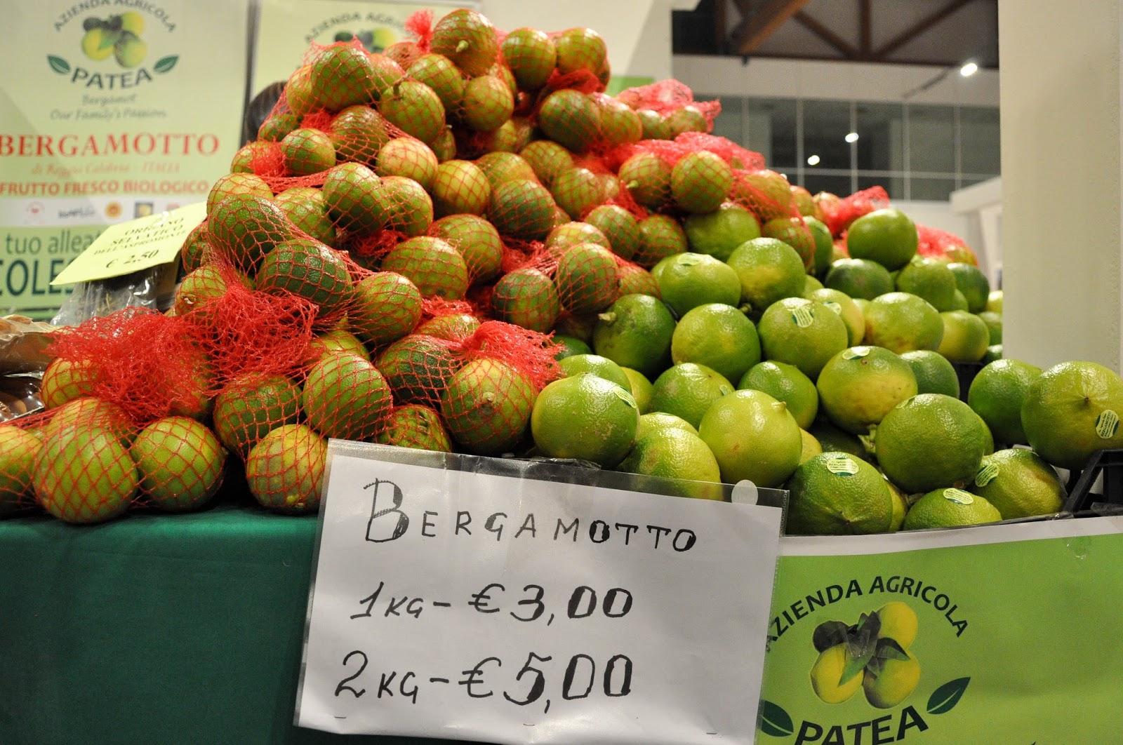Bergamots, CosmoFood Fair, Vicenza, Italy