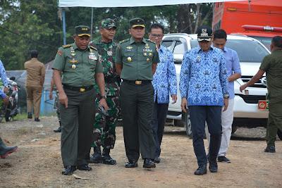 Brigjen TNI Gathut Setyo Utomo ; Pelaksanaan TMMD Kodim Mentawai Berjalan Lancar