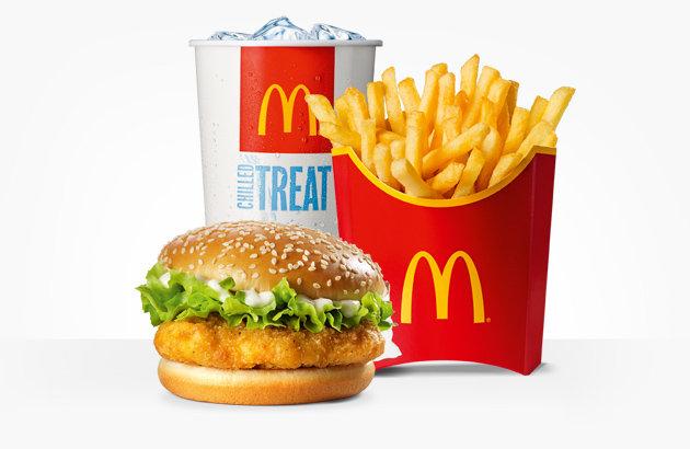 Kalórialeleplező - McDonald's menük és kalóriatartalmuk..
