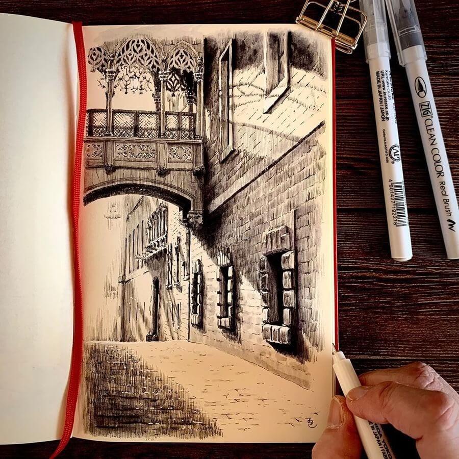05-El-Pont-del-Bisbe-Drawings-Rihiko-www-designstack-co