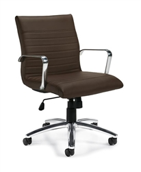 Ribbed Back Conference Chairs at OfficeFurnitureDeals.com
