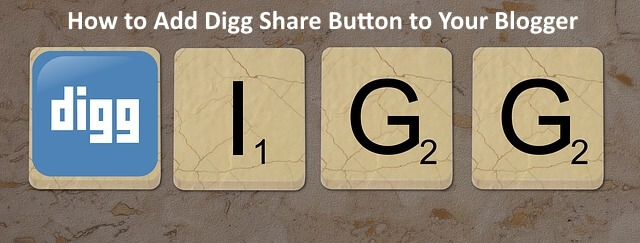 how add digg blogger