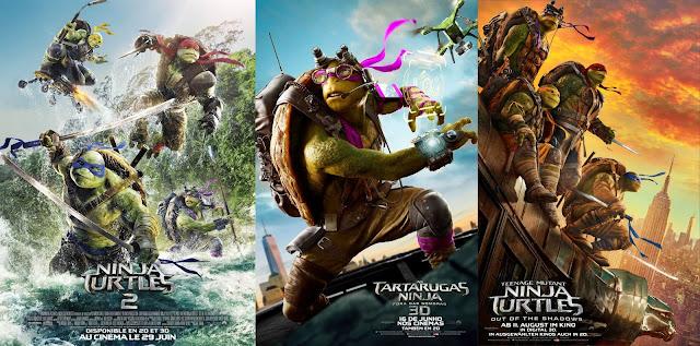 tartarugas ninjas - Fora das sombras