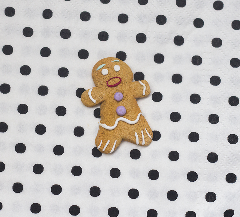 gingerbread polymer clay