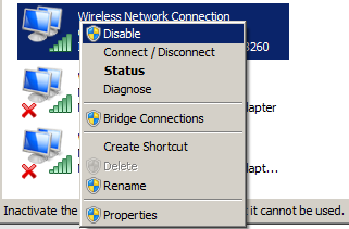 wifi not working windows 10