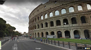 The Colosseum is the largest amphitheatre ever built