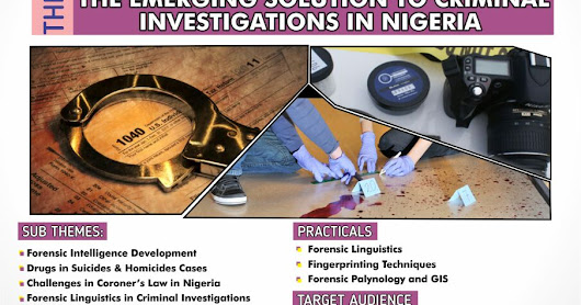Nigerian Forensic Workshop 2017