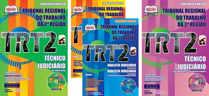 apostila concurso TRT SP 2ª Região - Tribunal Regional do Trabalho de São Paulo