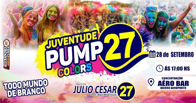Todo Mundo de Branco! Vem aí o Pump Colors da Juventude 27 em Anapurus!