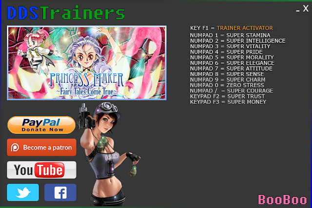 Princess Maker 3 Fairy Tales Come True Trainer and Cheats for PC