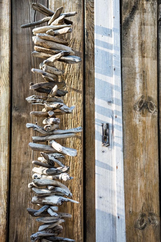 fim.works, ein Lifestyle Blog | Treibholz, Holzkette, Türrahmen, Shabby Deko, Shabby Gartendeko, Deko, altes Holz