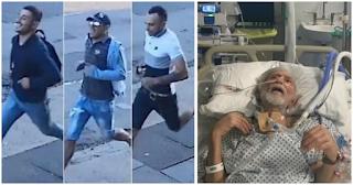 Ληστές έκλεψαν ανήμπορο 82χρονο καρκινοπαθή και κάμερα τους κατέγραψε να τρέχουν γελώντας