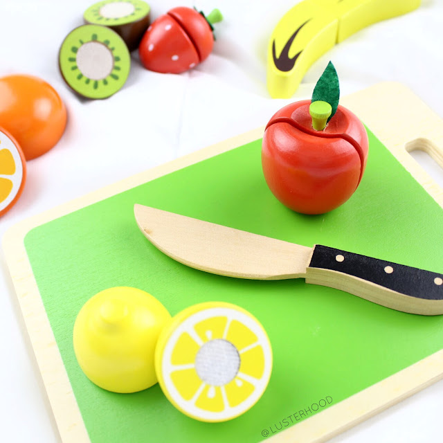 Cubbie Lee Toys Fruit Cutting Set  |  Lusterhood