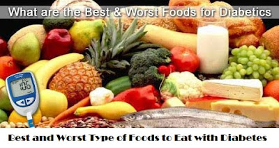 Best and Worst Type of Foods to Eat with Diabetes
