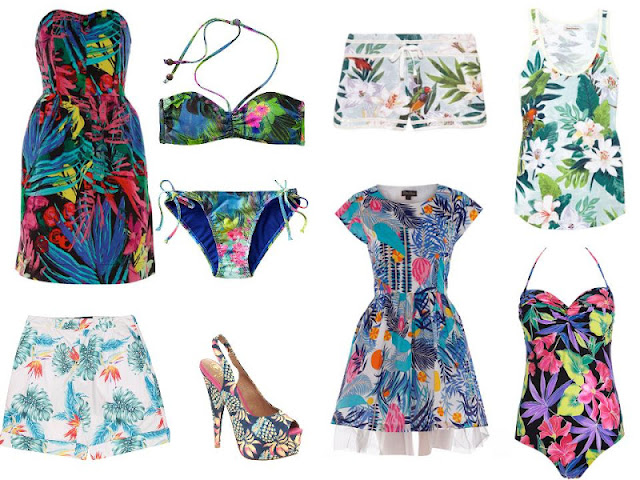 {Trend} Tropical Prints
