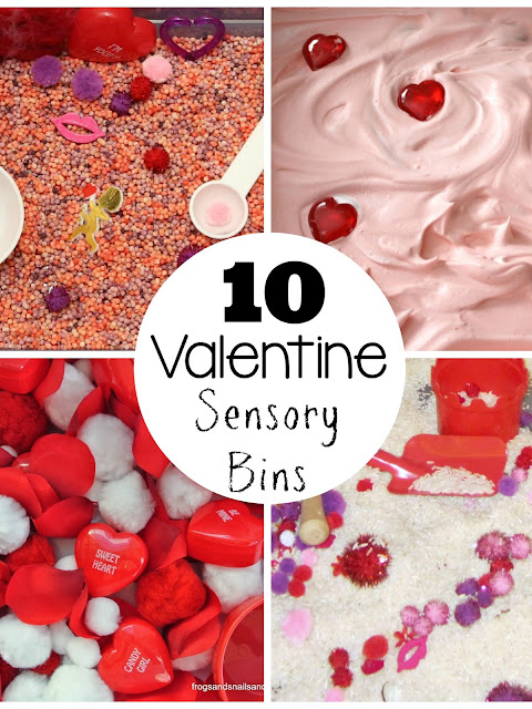 The best Valentine's Day sensory bin fillers for kids!