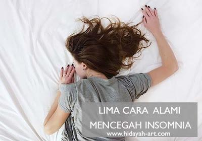 5 Cara Alami Mencegah Insomnia