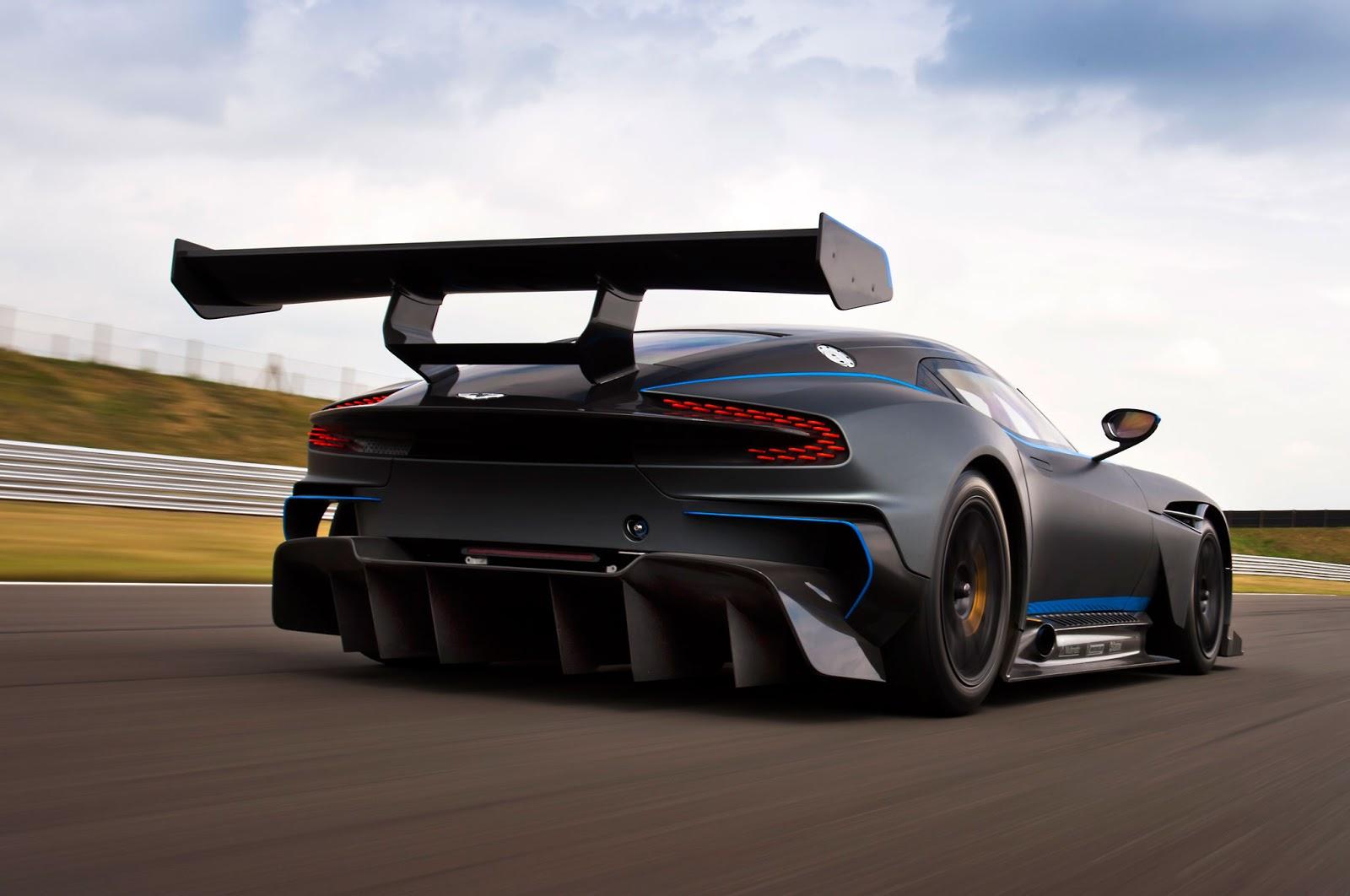 Carros Increibles Aston Martin Vulcan Especificaciones