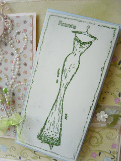 Stamps Happen Vogue Silhouette Rubber Stamp