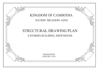 Structural Drawing Plan And Stories Building Shop House PDF