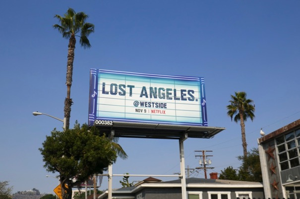 Lost Angeles Westside series launch billboard
