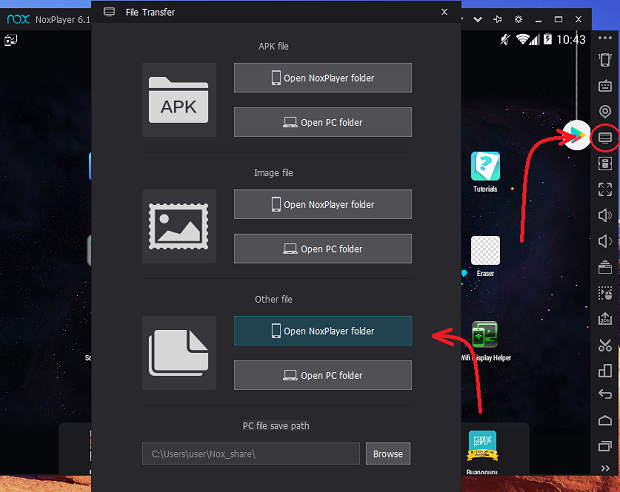 Cara Memindahkan File Data/Obb Android ke Nox Player