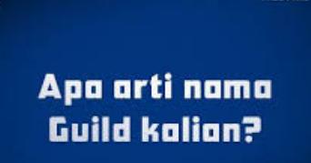 Nama Guild Squad Free Fire Keren Dan Artinya Gallery Tekno