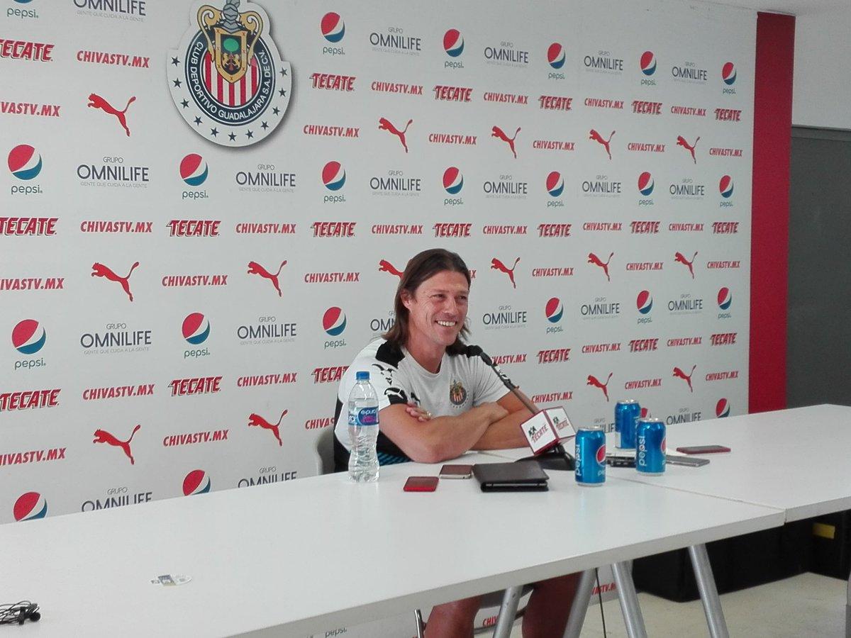 Almeyda señala que hará algunos ajustes para el partido del fin de semana ante León.