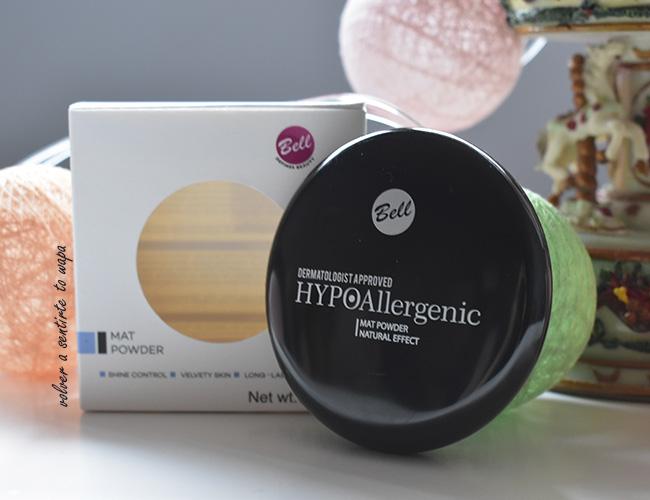 Polvos de maquillaje o sellado Hypoallergenic Mat Powder de Bell