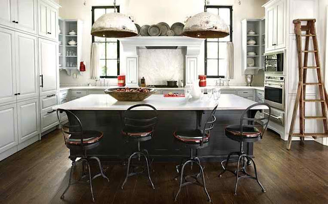 Black and White Industrial Kitchen DIY home improvement