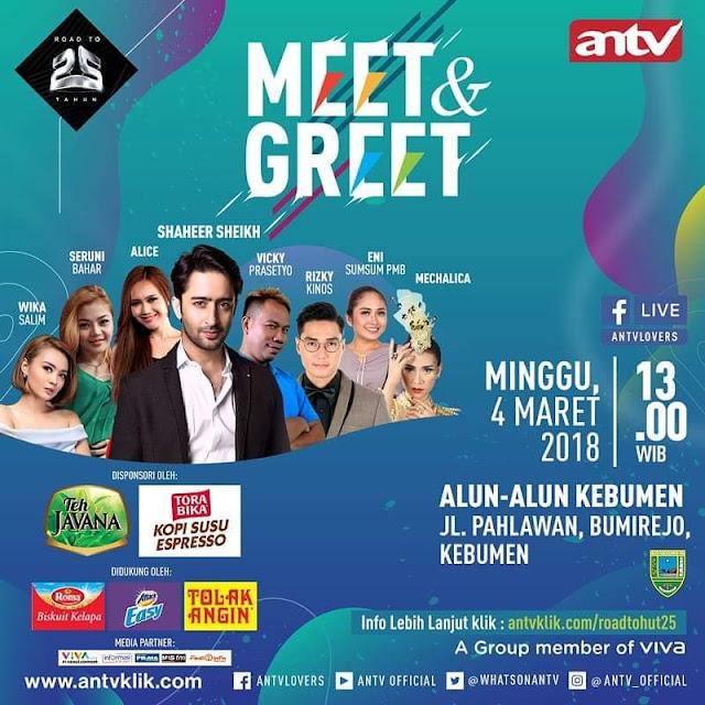 Meet & Greet Shaheer Sheikh di Alun-alun Kebumen