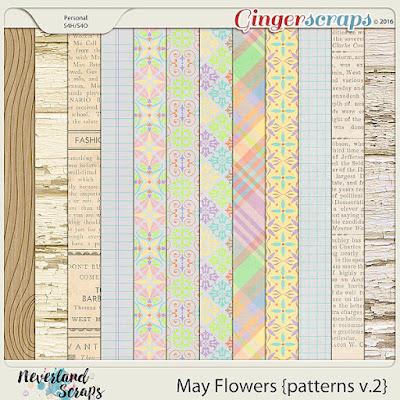 http://store.gingerscraps.net/May-Flowers-patterns-v.2.html