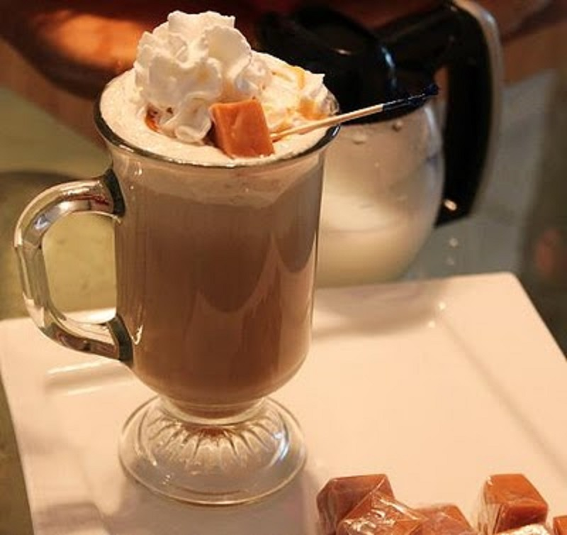 Pumpkin Spiced Caramel Latte Recipe